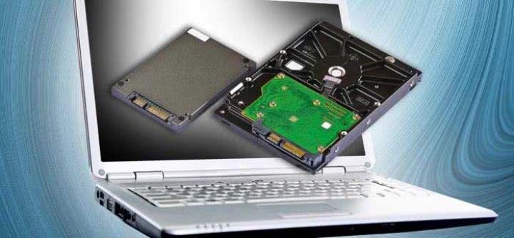W laptopie dysk działa wolno