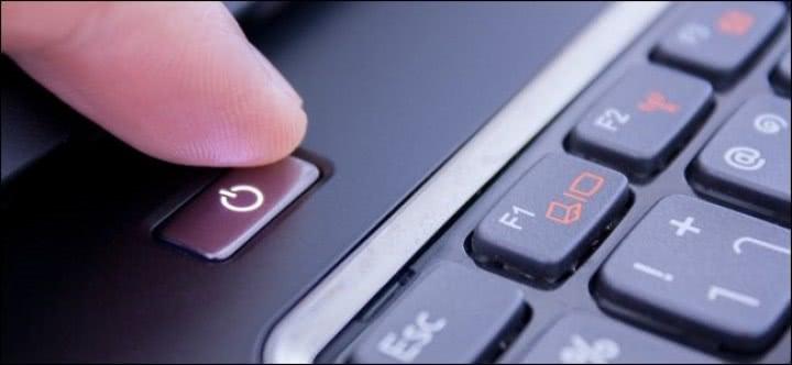 w laptopie nie działa power