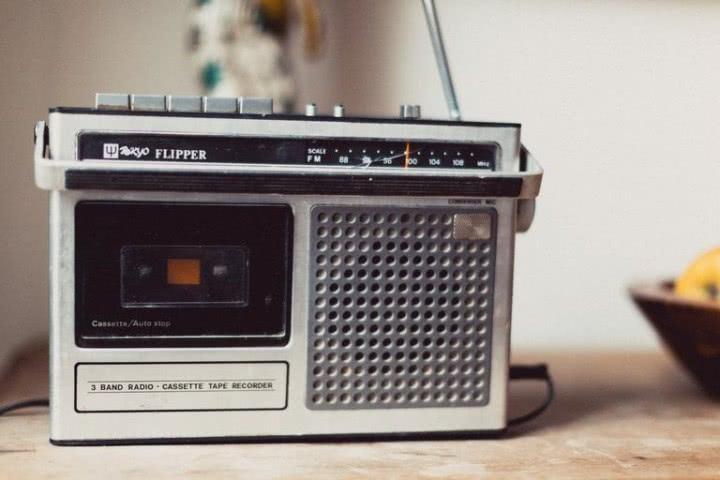 Radiomagnetofon brakuje pokrętła i klawisza