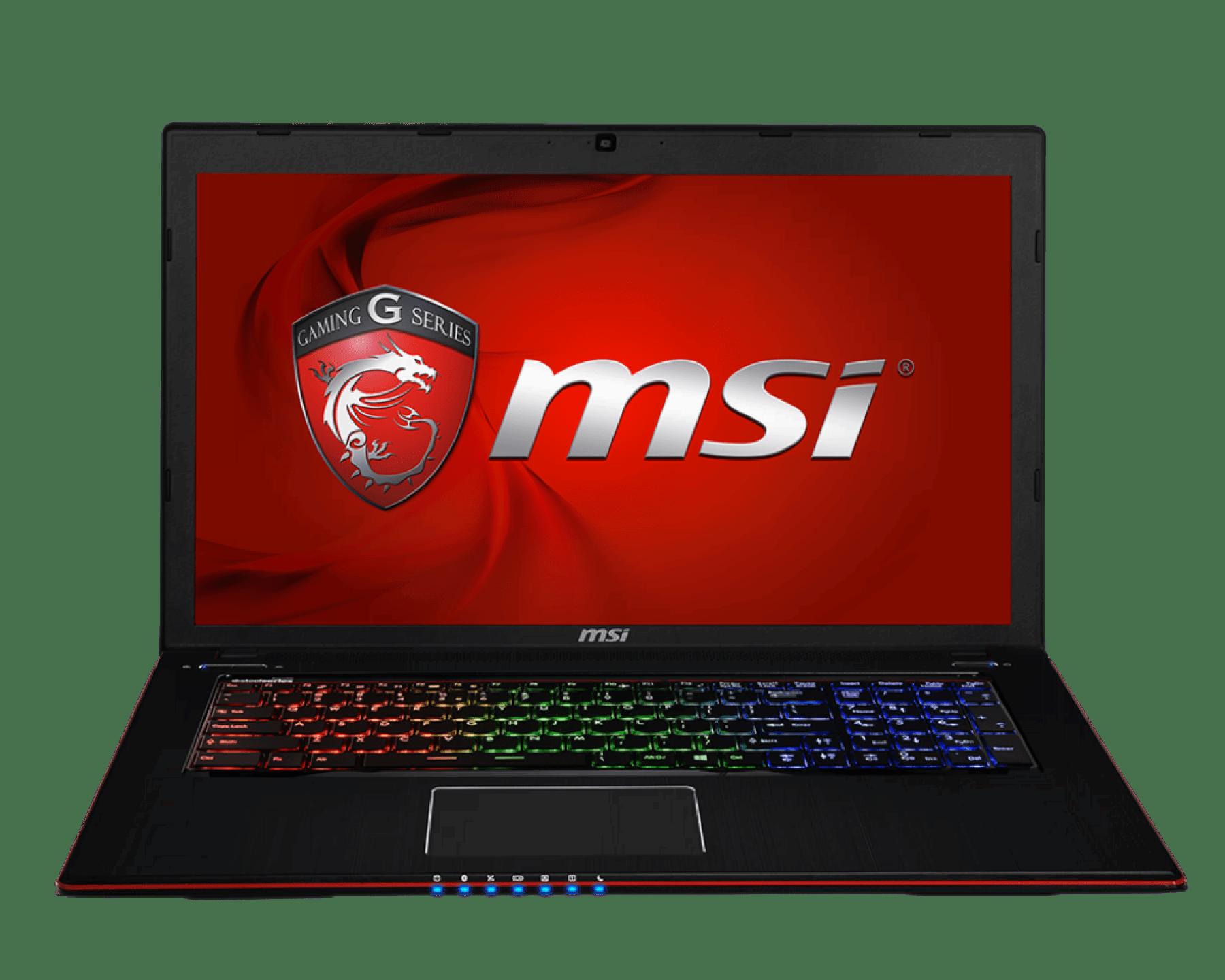 MSI serwis laptopów